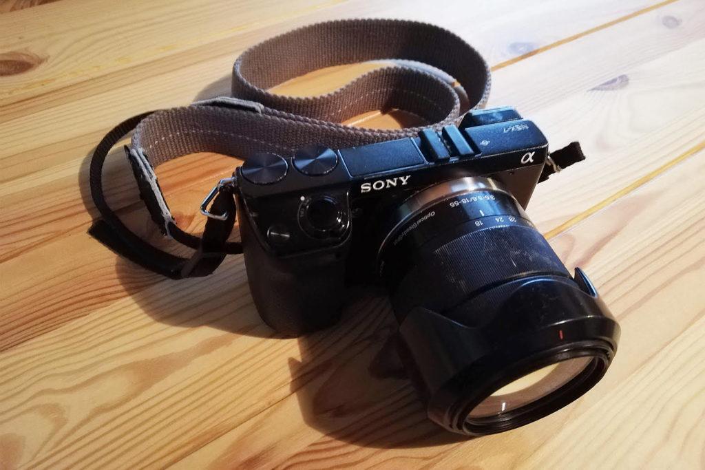 パリッコさんのカメラ