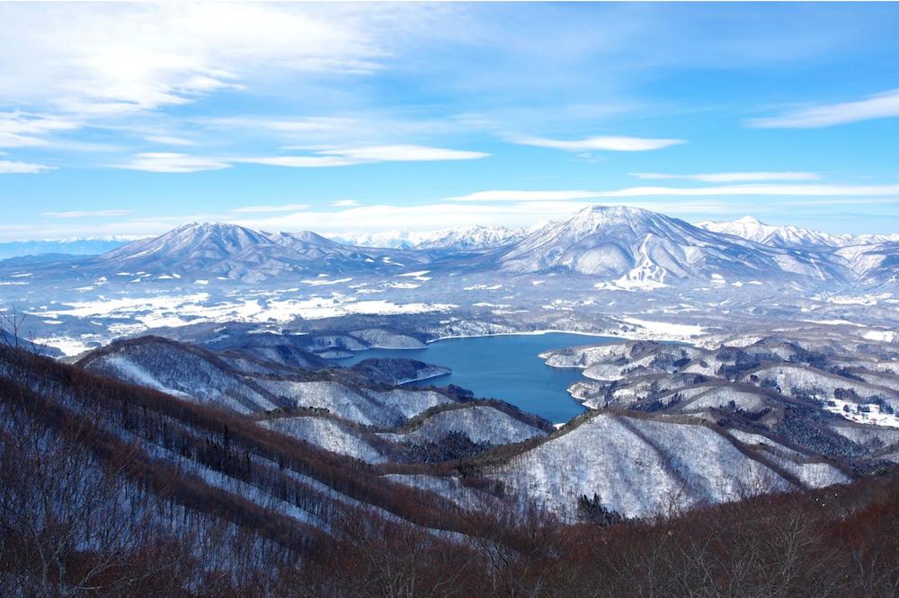 信濃町の山々