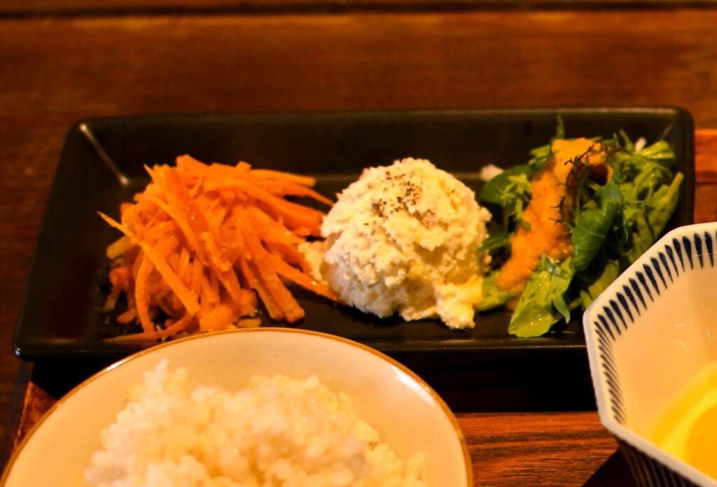 三浦野菜を利用したつけ合わせ