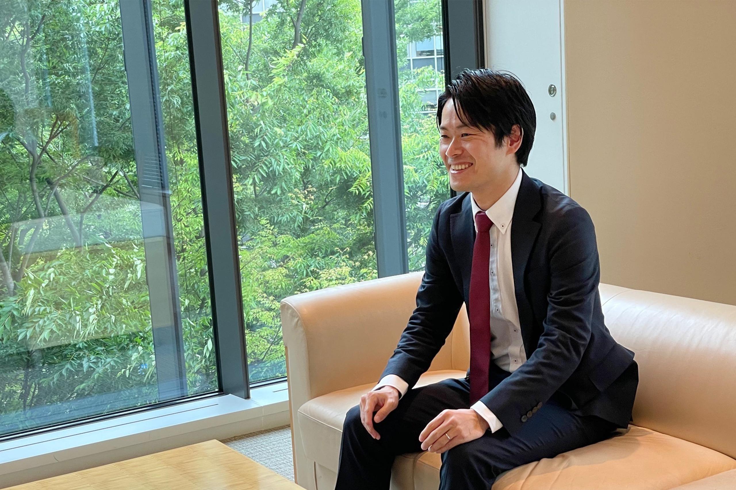 木戸さんのインタビューの様子